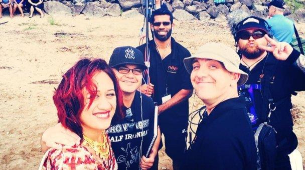 Selfie: Miss Kihi me ngā MTS crew...yeaa